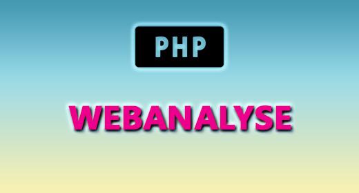 PHP (WEBANALYSE)