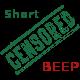 Short Censored Beep