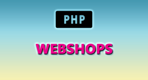 PHP (WEBSHOPS)