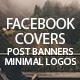 Facebook and Minimal Logos