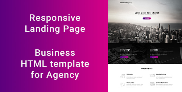 Agency – Responsive HTML5 Template (Site Templates) images