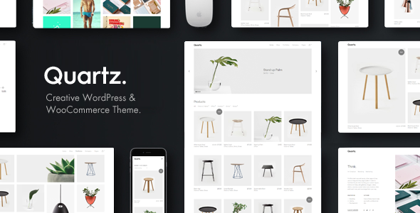 Download Quartz - Creative WooCommerce & WordPress Theme