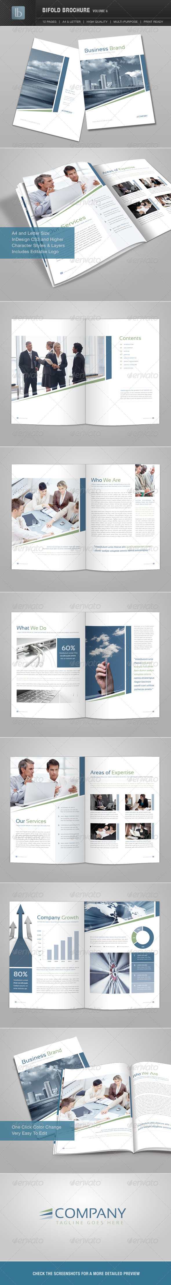 Bifold Brochure | Volume 6 - Corporate Brochures