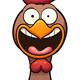 Cartoon Hens
