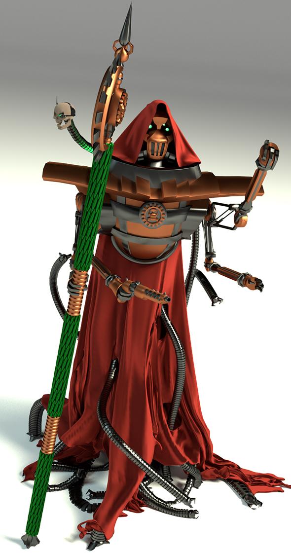 3DOcean Tech-priest 19514264