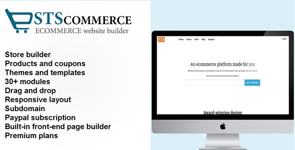 Download STSCommerce - eCommerce site builder