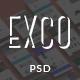 ExCo - Multi-Purpose PSD Template