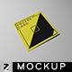 Square Card Mockup v1