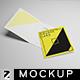 Square Card Mockup v2