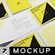 Square Card Mockup v3