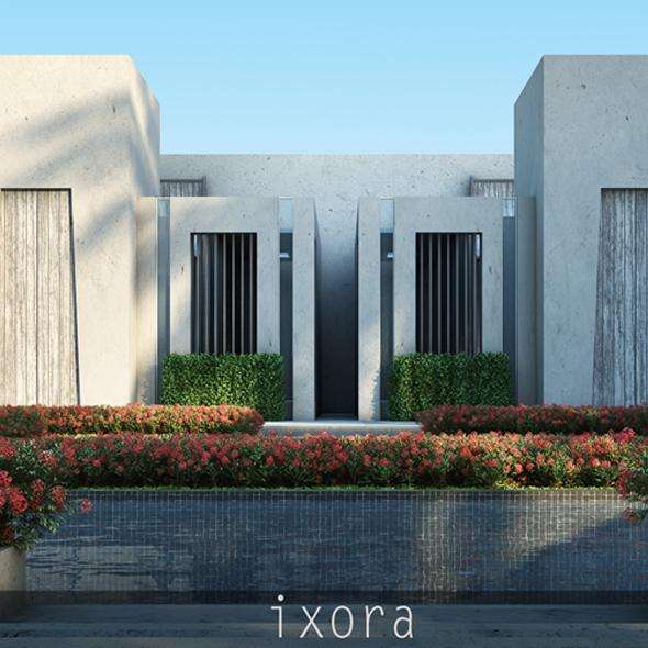 Ixora - 3DOcean Item for Sale