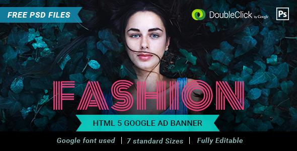 Fashion HTML 5 Banner 03