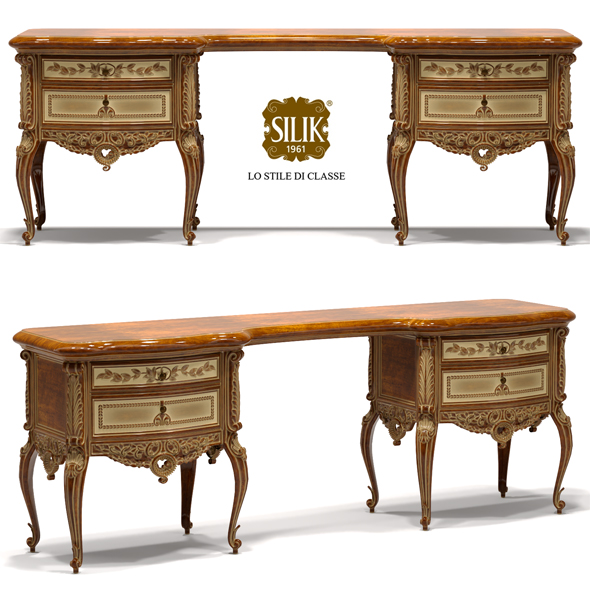 Silik Vesta dressing table - 3DOcean Item for Sale