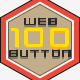 Web Button Modern Flat Design