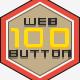 Web Button Modern Flat Design