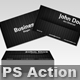 Business Card Action - GraphicRiver Item for Sale