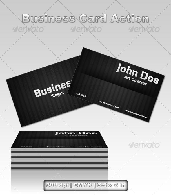GraphicRiver Business Card Action 74049