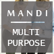 Mandi – Onepage and Multipage Responsive Creative , Corporate, Business & Portfolio Template