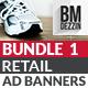 Retail Banner Ads - Bundle 1