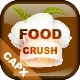 Food Crush - Online Match3 HTML5 Game (.CAPX)