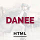 DANEE - Onepage HTML5 Template