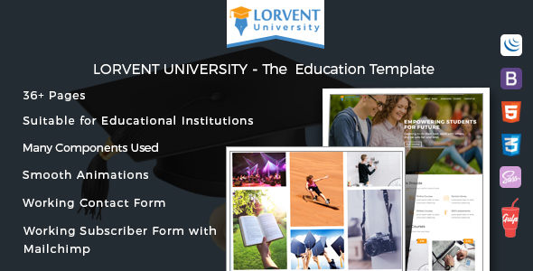 Download Lorvent Education Template