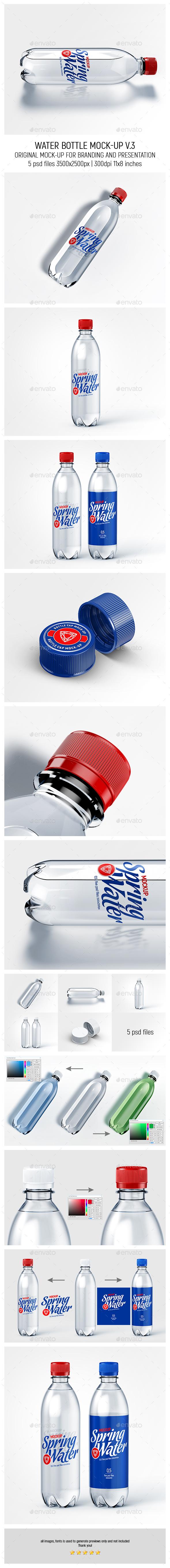 Water Bottle Mock-up v.3