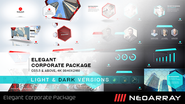 VideoHive Elegant Corporate Package 19491038