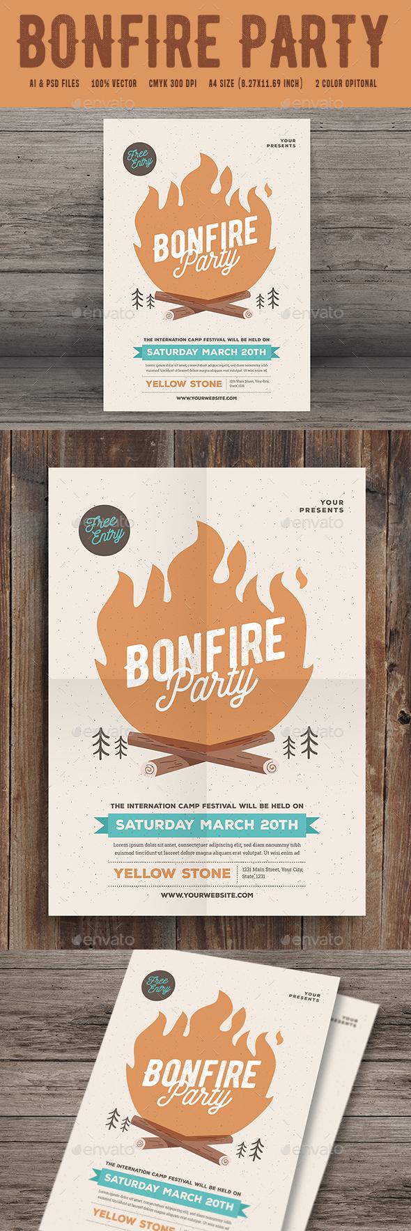 Bonfire Event Party