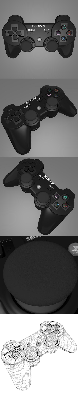 joystick playstation 3 - 3DOcean Item for Sale