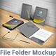 Simple File Folder Mockup