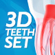 3D Teeth Set