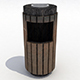 Strett trash can - 1