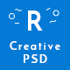 Raico Creative Portfolio PSD Template