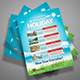 Holiday Flyer Template v01