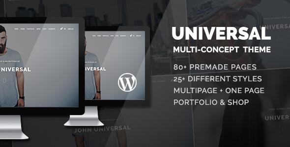 Download Universal - Smart Multi-Purpose WordPress Theme