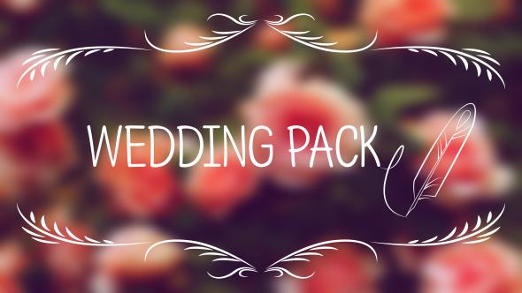 VideoHive Wedding Titles 19523269