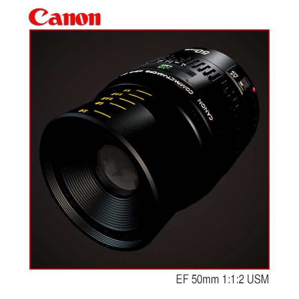 Lens Canon EF 50mm 1:1:2 USM - 3DOcean Item for Sale