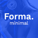 Forma. - Minimal PSD Template