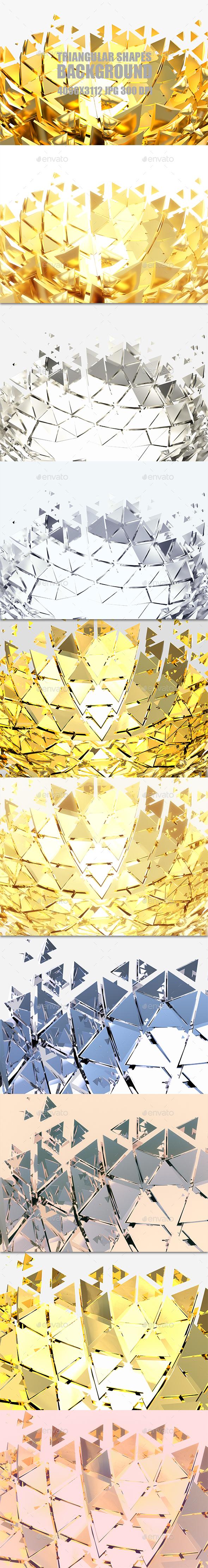 Graphicriver Triangular Shapes 19524076