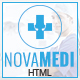 Novamedi - One Page Medical HTML5 Template
