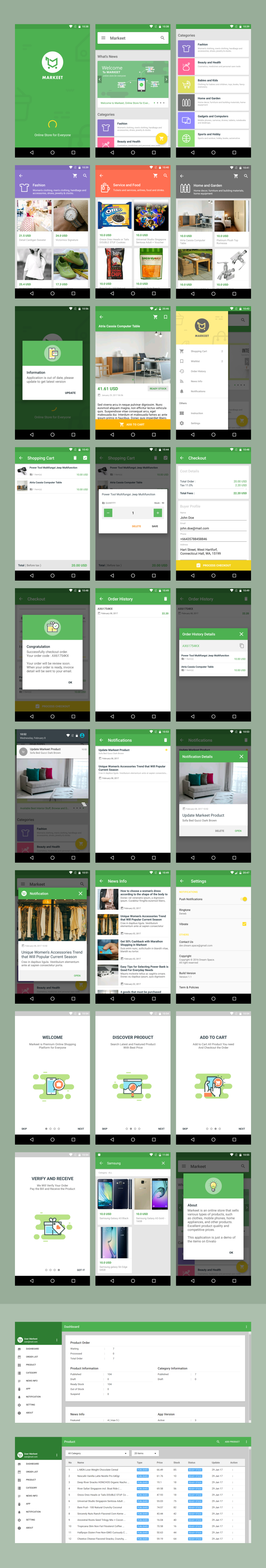 Markeet - Android Online Store 2.3 - 6