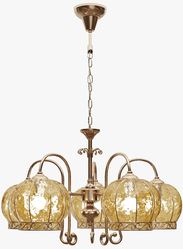 Chandelier Arte Lamp A2106LM-5AB - 3DOcean Item for Sale