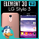 LG Stylo 3 for Element 3D