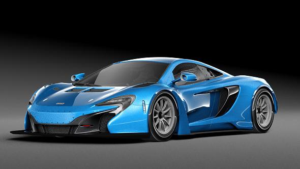 McLaren 650S - 3DOcean Item for Sale