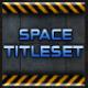 Scifi Space Titleset