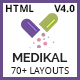 Medikal - Health & Medical Responsive HTML5 Template
