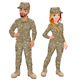 Couple of Male and Female Soldiers