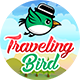 The Traveling Bird - Endless Android Game with Admob
