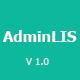 AdminLIS - Responsive Bootstrap Admin Dashboard Template